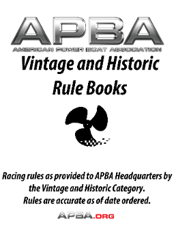 Vintage and Historic Rulebook