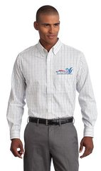 Tattersall Easy Care Shirt-embroidered