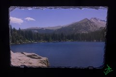 "11.5"" X 7.5"" Bear Lake Out Rock Slate"