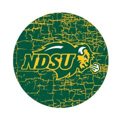NDSU Primary Cracks 1 Pewter Key Chain or Money Clip