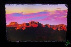 "11.5"" X 7.5"" Badlands Graphic Dreamscape 1 Slate"