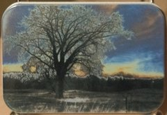 "2.75"" X 4"" Lone Oak Distortion Gift Tin"