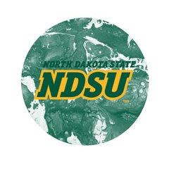 NDSU Concrete 2 Round Pendant