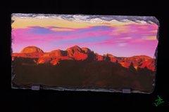 "8.5"" X 4.5"" Badlands Graphic Dreamscape 1 Slate"