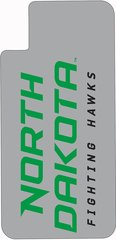 iPhone X ND Fighting Hawks on Grey Dauphin™ Hard Rubber Case Phone Case