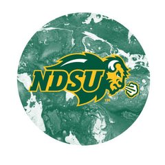 NDSU Primary Concrete 2 Pewter Key Chain or Money Clip