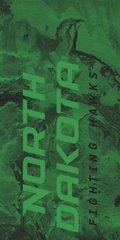 UND ND Fighting Hawks Concrete 1 on Green Dauphin™ Hard Rubber Phone Case