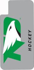 iPhone X UND Hockey on Grey Dauphin™ Hard Rubber Case Phone Case