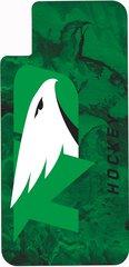 iPhone X UND Hockey Marble 1 on Green Dauphin™ Hard Rubber Case Phone Case