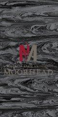 MSUM Flame Concrete 1 on Black Dauphin™ Hard Rubber Case Phone Case