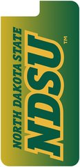 iPhone 7+ & 8+ NDSU Gradient 1 Dauphin™ Hard Rubber Case Phone Case