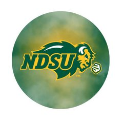 NDSU Primary Fog 2 Pewter Key Chain or Money Clip