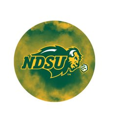 NDSU Primary Clouds 1 Pewter Key Chain or Money Clip