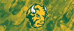 NDSU Head Logo on Concrete 1 Rectangle Ring Stand™ Phone Holder