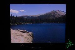 """5"""" X 7"""" Bear Lake Out Rock Aluminum Print"""