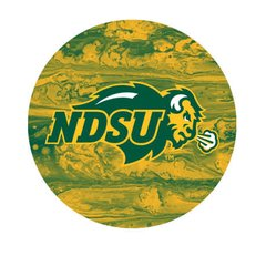 NDSU Primary Concrete 1 Pewter Key Chain or Money Clip