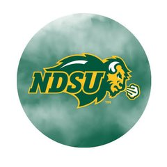 NDSU Primary Fog 1 Pewter Key Chain or Money Clip