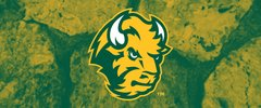 NDSU Head Logo on Stones 1 Rectangle Ring Stand™ Phone Holder