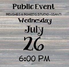 07-26 Public Event - Isanti 6:00 pm