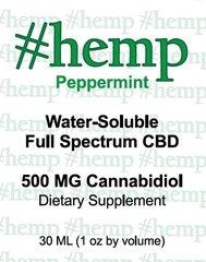Natural Blend: Peppermint Flavor CBD