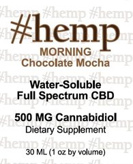 Energizing, Morning Blend: Chocolate-Mocha Flavor CBD