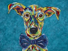 Dapper - Rascal Brother Wolf Animal Rescue print