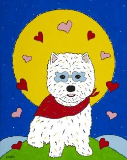 I Love You To The Moon & Back - West Highland Terrier