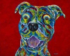 Just Smile - Pit Bull