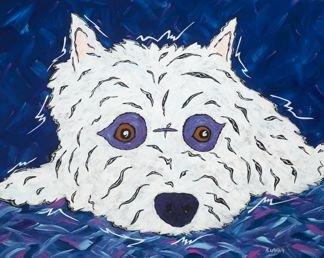 Just Chillin - West Highland Terrier