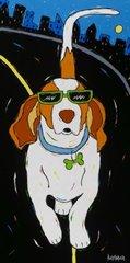 Struttin' The Line - Basset Hound