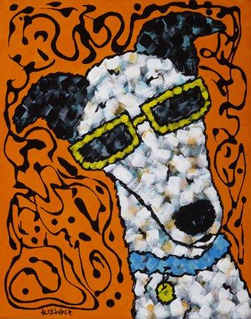 Dazzled Greyhound