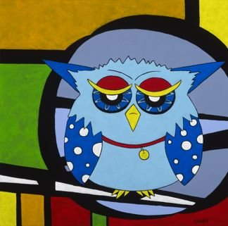 Stepping Out - Owl
