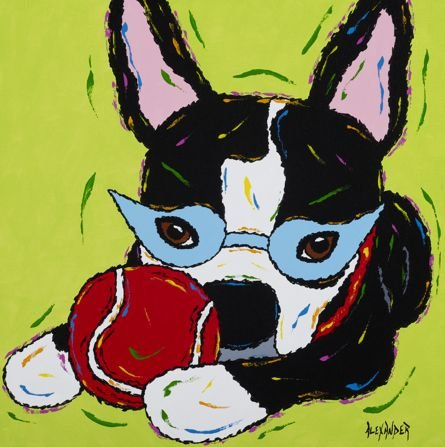 Don't Make Me Mad - Boston Terrier