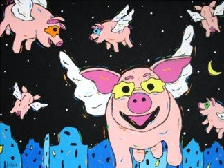 Never Say Never - Flying Pigs