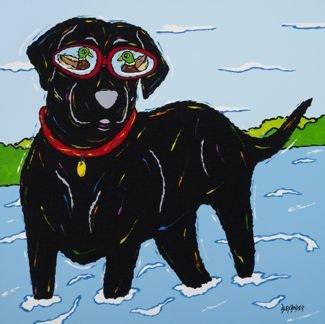 Se-DUCK-tion - Black Labrador Retriever