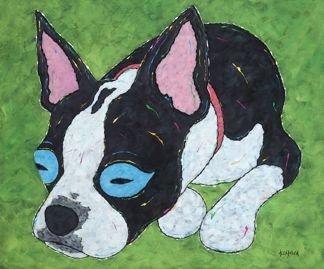 In Dreams... - Boston Terrier