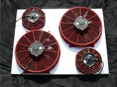 Ford F-250 Powerstroke Quad Fan Extreme System