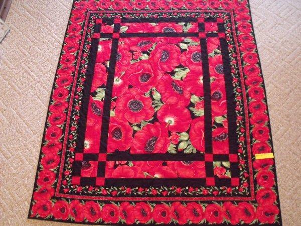 Prairie Windows Poppy Quilt | Uniquely Yours Quilt Shop : uniquely yours quilt shop - Adamdwight.com