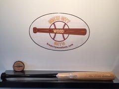 Model #D212 Durable Team Wood Baseball Bat -2oz