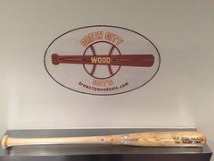 Model #238 Contact Hitter Wood Baseball Bat -3oz