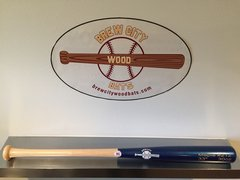 Model #212  Gap Hitter Wood Baseball Bat -3oz