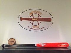 Model #2212 Power Pro Style Wood Baseball Bat -2oz