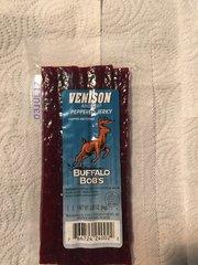 Buffalo Bob's Peppered Venison Jerky