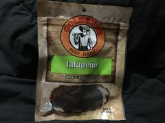 Gold Rush Jalapeno Beef Jerky 2.85oz Bag