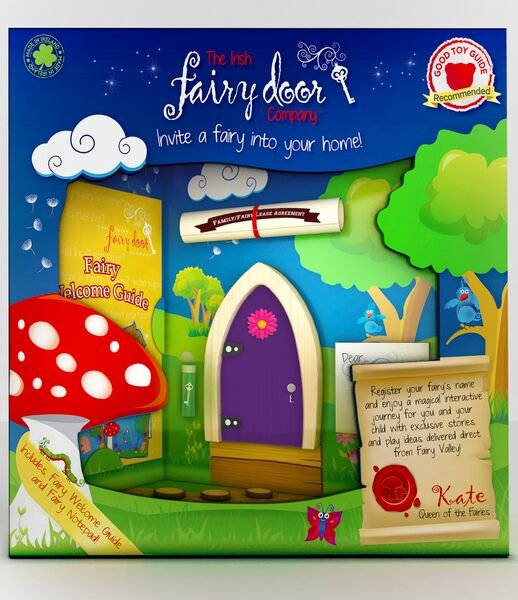 Irish fairy door colour option available molly and friends for My irish fairy door