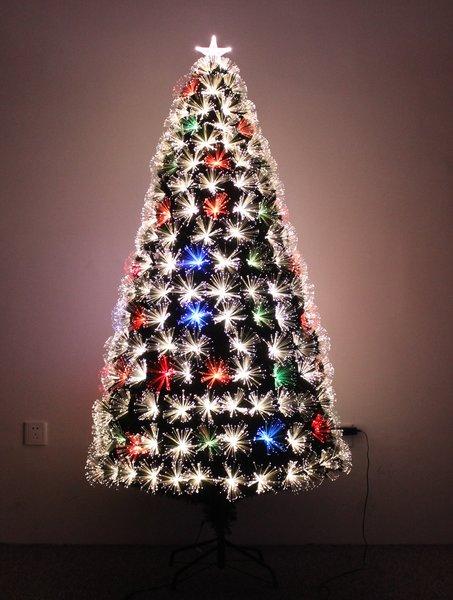 Firework Multi Colour Fiber Optic Christmas Tree | HOLIDAY STUFF ...