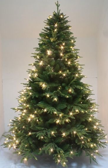A 04 Luxury Perfect Shape Spruce Artificial Christmas Tree