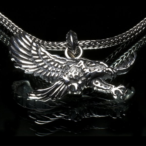 28. Eagle/SterlingSilver/Pendant