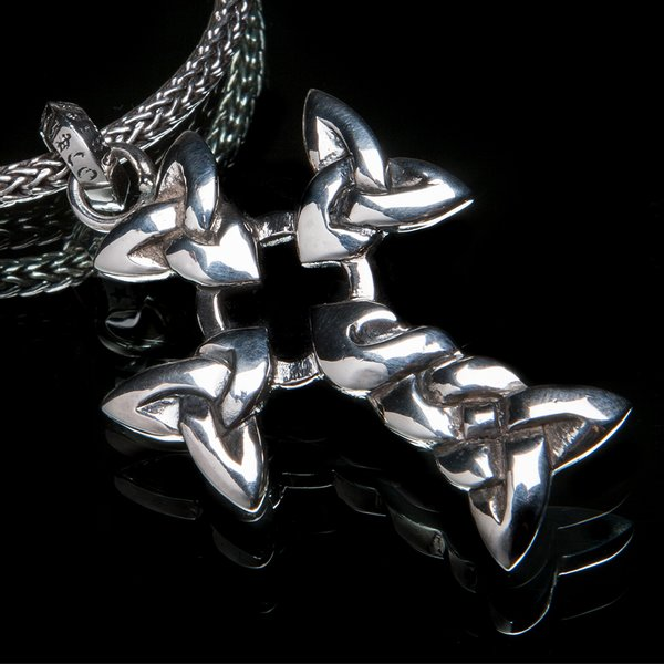 78. CelticCross/SterlingSilver/Pendant