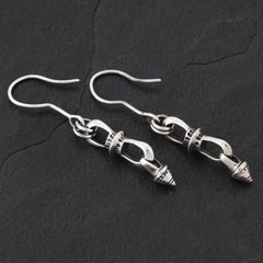 08. Geo-008 - SterlingSilver/DropEarrings